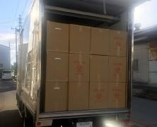 集積運搬用トラック
